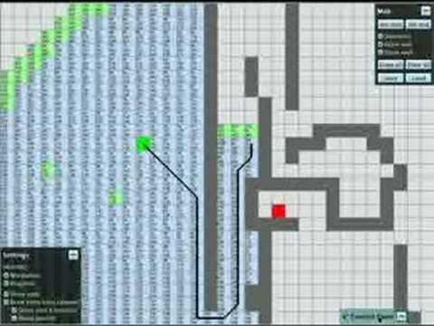 A* Algorithm with Python-Pygame