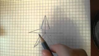 Как нарисовать звезду (легко)(, 2016-03-31T13:10:10.000Z)