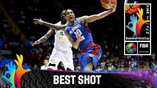 Senegal v Philippines - Best Shot - 2014 FIBA Basketball World Cup