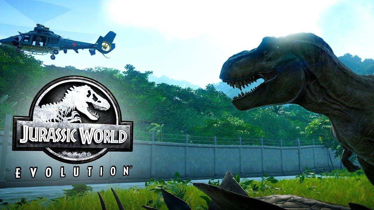 Jurassic World Evolution Gameplay (No Commentary)