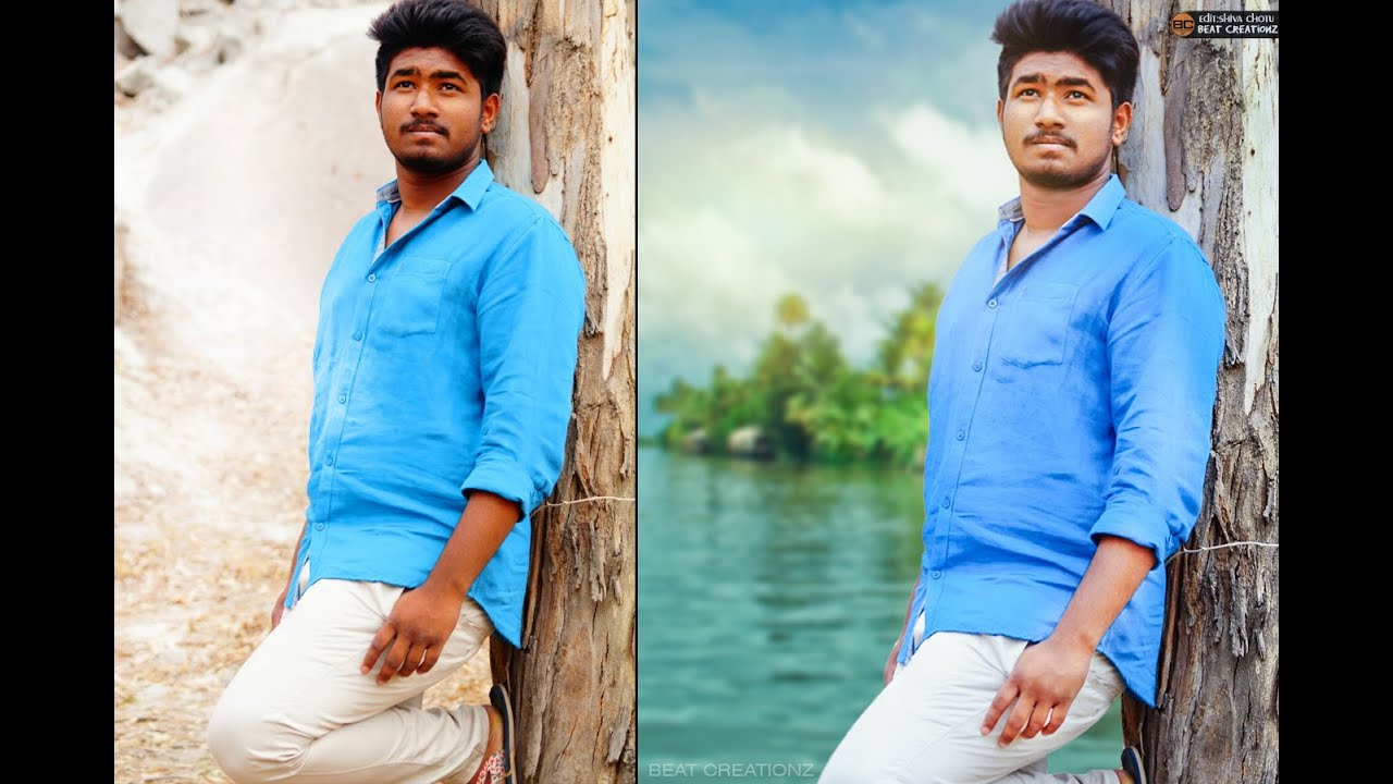 How to change background in photoshop photo manipulation youtube how to change background in photoshop photo manipulation baditri Choice Image