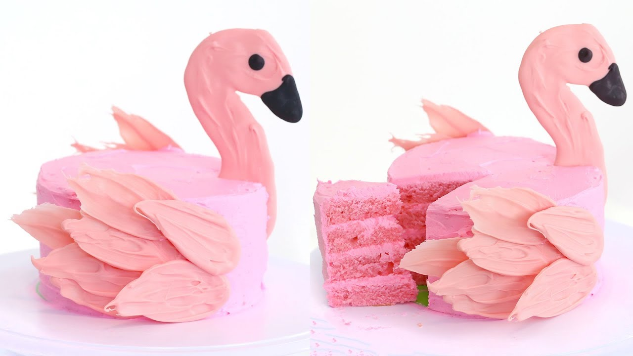 How To Make A Flamingo Cake