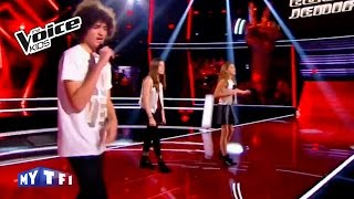 The Voice Kids 2016 | Nina - Lou - Iskander sur ''Still loving you'' (Scorpions) | Battle