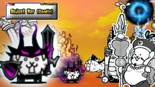 Battle Cats | Manic Dark VS Good-Luck Ebisu | Unjust War (Deadly)