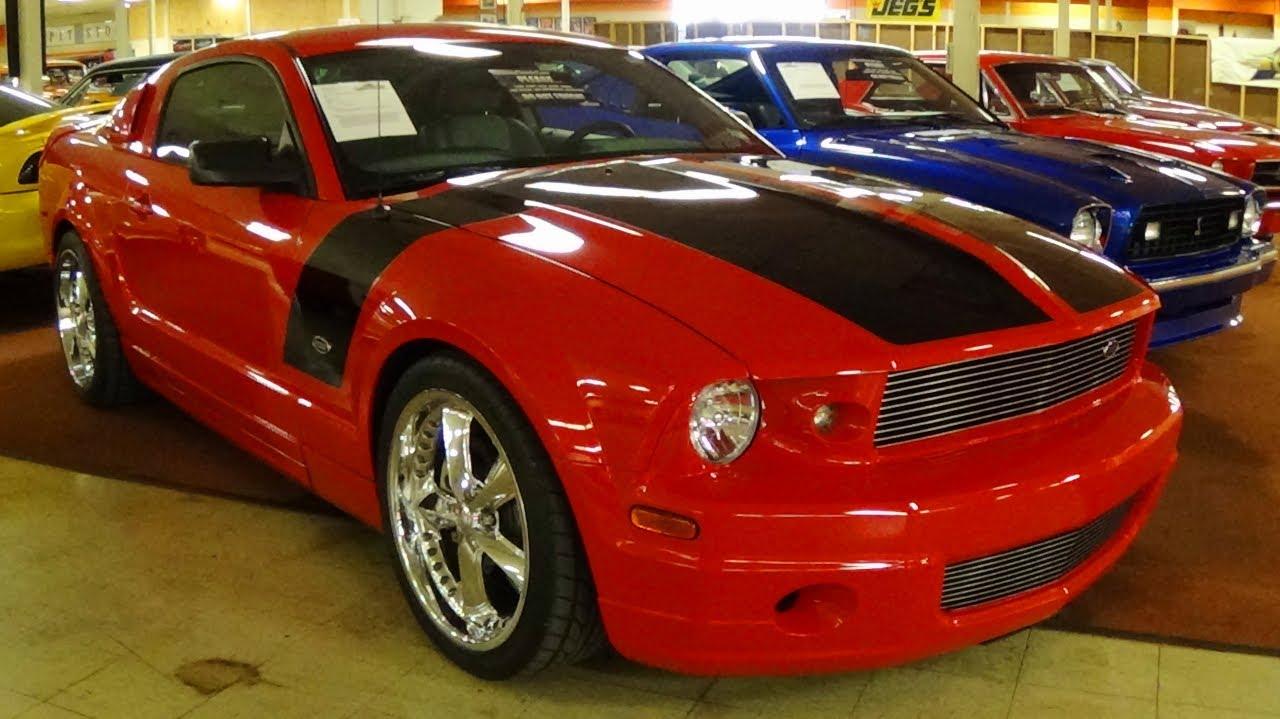 Super 2007 Foose Stallion Mustang 4.6 V8 - Chip Foose Designed Custom  LM84