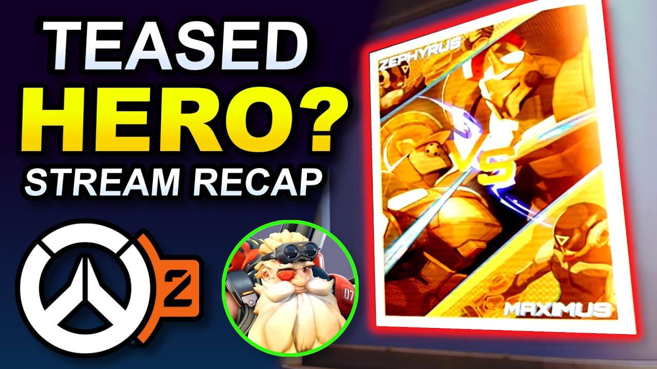 Download New Maps, HUGE Changes + NEW HERO Teased? (Overwatch 2 PvP Livestream Recap)