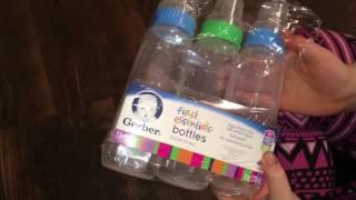 Gerber Bottle Opening for Baby Dolls