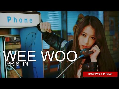 PRISTIN - Wee Woo | Line Distribution (Color Coded)