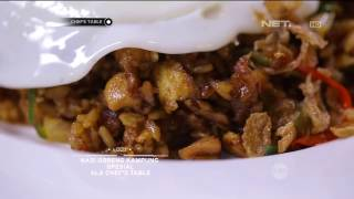 Chef's Table - Nasi Goreng Kampung Spesial