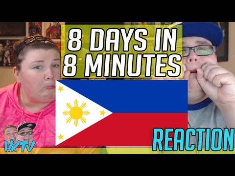 SAM BREAKS DOWN 😭 8 Days In The Philippines In 8 Minutes REACTION!! 🔥