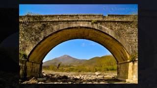 Leontari Castle - Karnionas River Bridge, Leontari Arcadia Greece