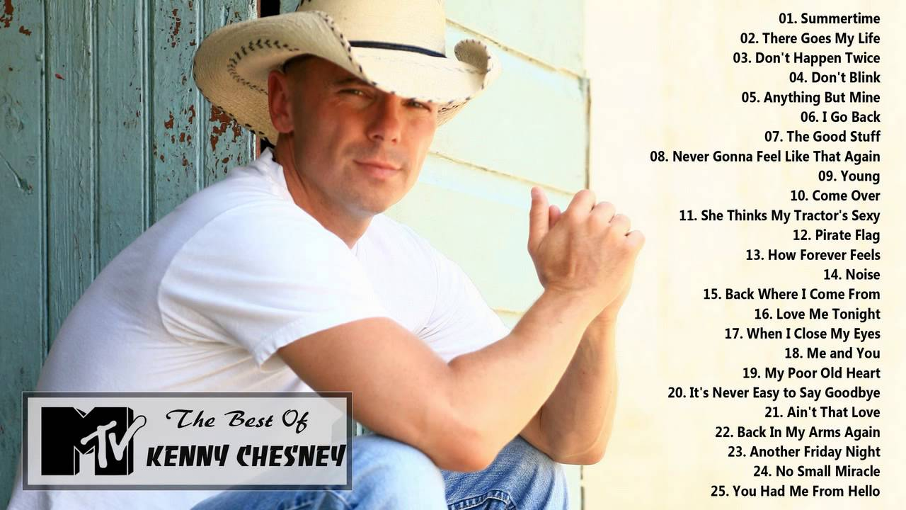 Top 20 Kenny Chesney Songs ( Updated April 2018 ) - Muxic ...