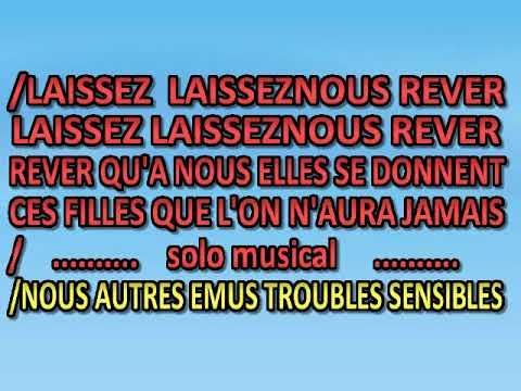 Herbert Leonard   Laissez Nous Rever [karaoke]