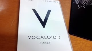 Vocaloid 3 Editor 【3.0.5.0】 Free Edition + Download