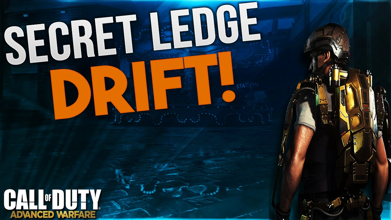 COD AW Glitches  Drift Secret Ledge! (Advanced Warfare
