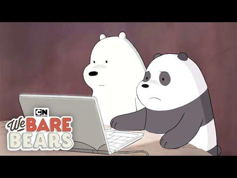 Too Attached to Food I We Bare Bears I Cartoon Network