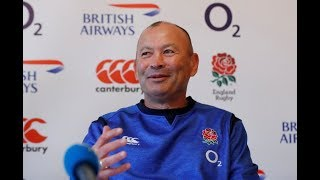 England players and Eddie Jones speak as Rugby World Cup squad is revealed –watch live