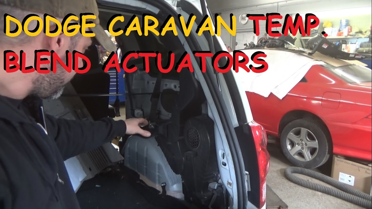 Dodge Grand Caravan - Rear Heater Clicking / Front Heat Stuck On Hot - YouTube