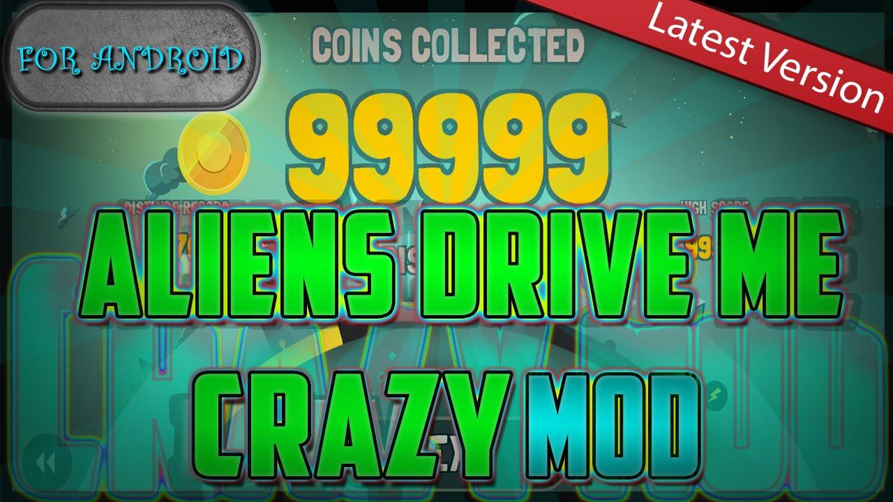 Aliens Drive Me Crazy MOD (Unlimited Coins)