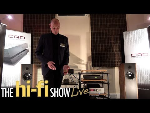 Quadraspire Demonstrate Brand New Product CAD Trilogy Kudos @ Hi-Fi Show Live 2017