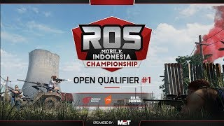 Rules of Survival Indonesia Championship - Online Qualifier 1 Day 2 Group B1