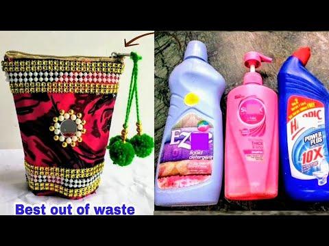 DIY Best Out Of Waste Empty Bottle Craft Idea/Best Reuse Idea