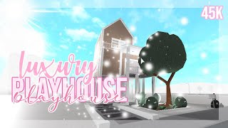 BUILDING a  LUXURY PLAYHOUSE for a kid in Bloxburg ||Welcome to Bloxburg ||Astra