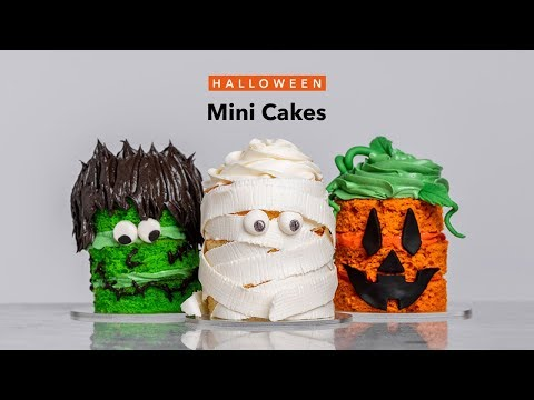 3 Mini Halloween Cakes | Quick (& Impressive!) Spooky Desserts