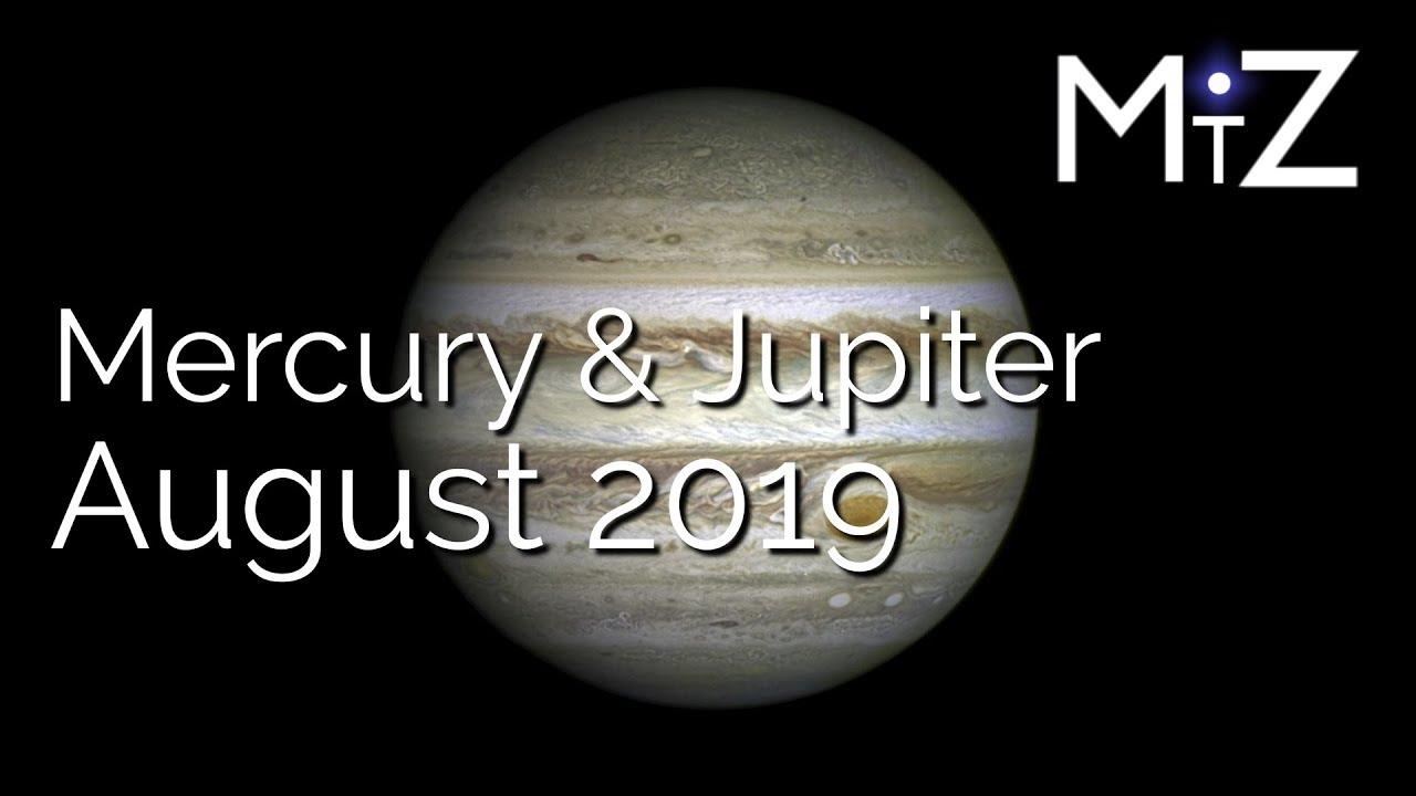 Mercury Trine Jupiter Wednesday August 21st 2019 - True Sidereal Astrology