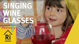 Singing wine glasses - Science with children - ExpeRimental #4