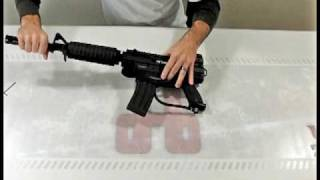 how to install the rap 4 m4 m16 barrel kit with shroud on your paintball gun by hustlepaintball com