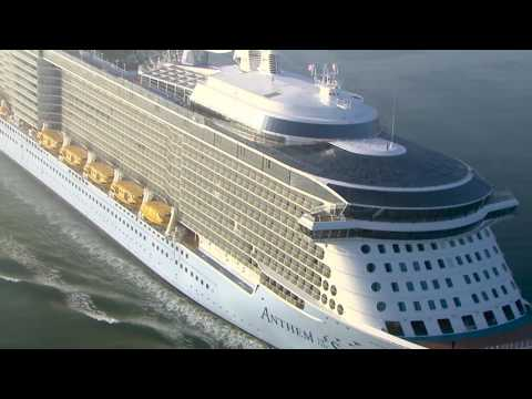 Powering a cruise ship: The role of a Royal Caribbean Chief