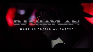 Dj Shaylan promo - soirées MADE IN - Octobre 2014
