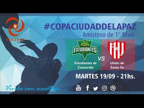 """Copa Ciudad de La Paz """"Estudiantes de Concordia vs. Unión de Santa Fé"""""""