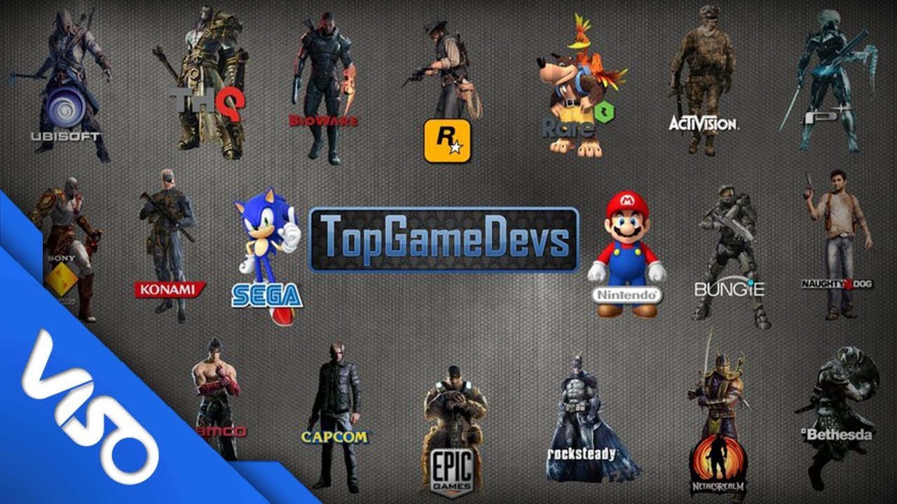 Top 5: Video Game Developers - YouTube