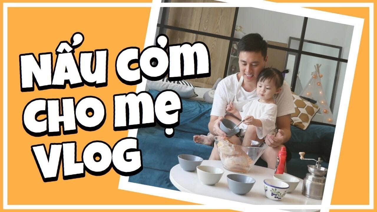Bố con Cam Cam vào bếp   Nồi chiên không dầu thần thánh   Gia Đình Cam Cam Vlog 43
