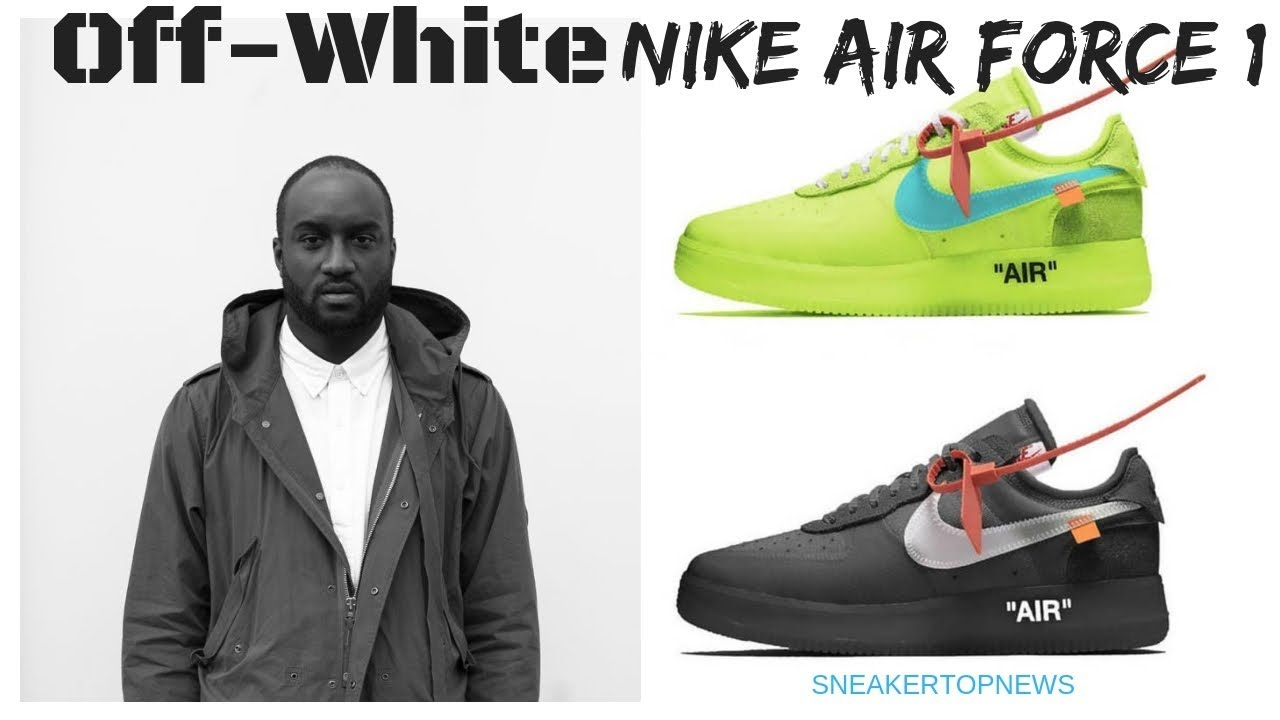 f297467affe4 Off White x Nike Air Force 1 Low Releasing In December - YouTube