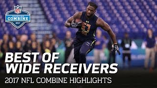 Best of Wide Receivers | 2017 NFL Combine Highlights