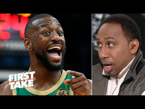 Stephen A. Thanks Kemba Walker For Scoring 39 Points Against The Nets   First Take
