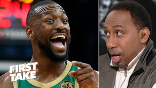 Stephen A. thanks Kemba Walker for scoring 39 points against the Nets | First Take
