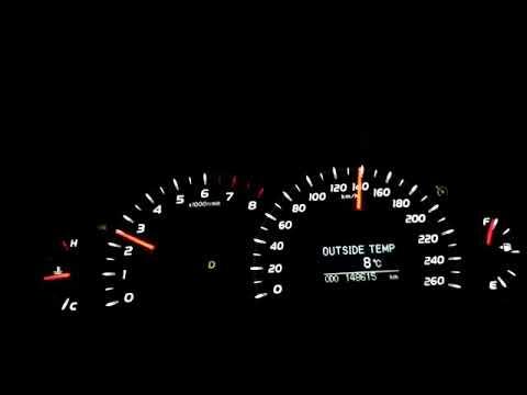 Toyota Camry 3.5 V6 40-230 kmh