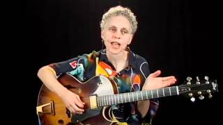 Jazz Performance - #6 - Guitar Lesson - Mimi Fox
