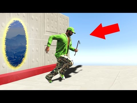 TELEPORT CHALLENGE IN GTA 5! (GTA 5 Funny...