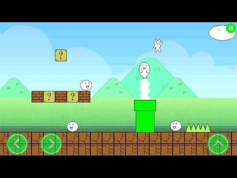Super Cat World : Syobon Action HD Gameplay (Android, iOS) Best New Free Android Games