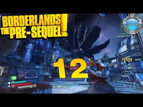 Borderlands: The Pre-Sequel part 12 Removing the override signal
