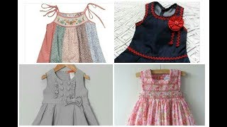 Simple and comfortable summer baby frocks ideas easy stitch at home