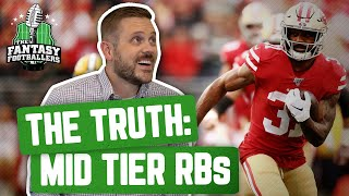 Fantasy Football 2020 - The TRUTH: Second Tier RBs in 2019 - Ep. #853