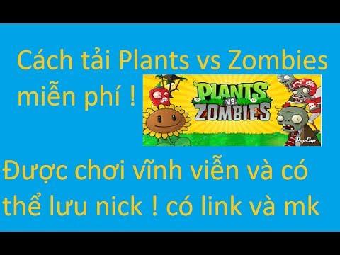 Hướng dẫn : Cách tải game Plants vs Zombies crack