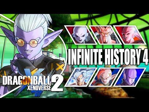 WHAT IF FU WAS OUR PARTNER!?! Dragon Ball Xenoverse 2 Infinite History Saga Walkthrough Part 4