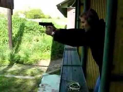 Shooting with Alfa Defender in Mikulov